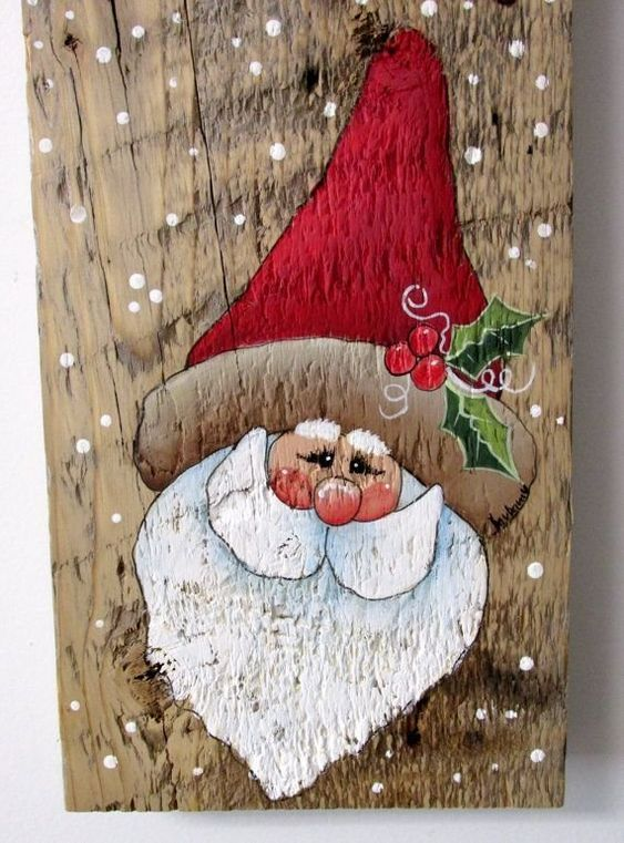 image result for christmas painting ideas on canvas