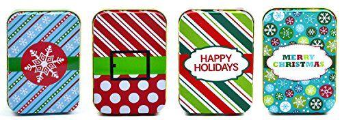 Gift card boxes for christmas/tin