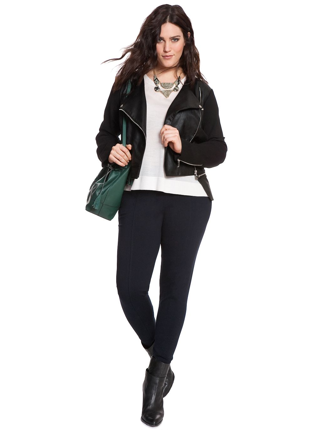 miracle flawless plus size legging | clothing and black
