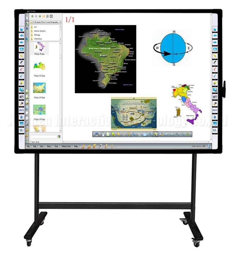 Great M Series Electromagnetic interactive Whiteboard | intech ...