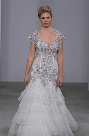 Lace Pnina Tornai Ball Gown Say Yes To The Dress Pnina Tornai Grand Lace Ball Gown Goog Trendy Wedding Dresses Wedding Dresses Strapless Used Wedding Dresses