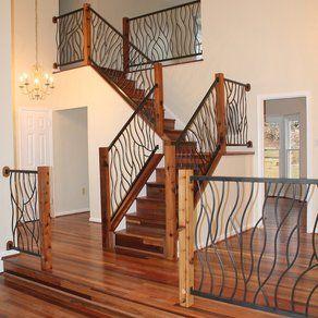 Wrought Iron Loft Railing Ideas Ideas For Custom Wrought Iron