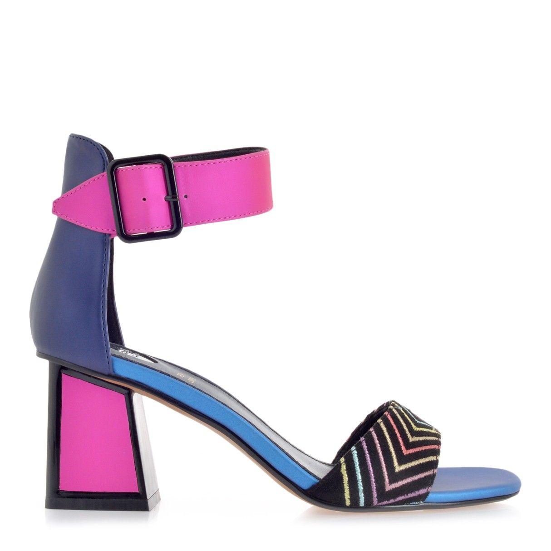 c2a56f3169d EXE μπλέ φούξια πέδιλο   Tsakiris Mallas   Shoes in 2019   Shoes ...
