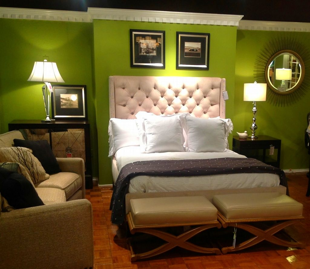 Master bedroom headboard design ideas  The title of this photograph is Bedroom Colors For Couples It is in