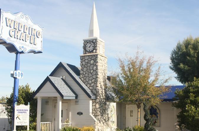 Las Vegas Wedding At The Graceland Chapel Exchange Marriage Vows