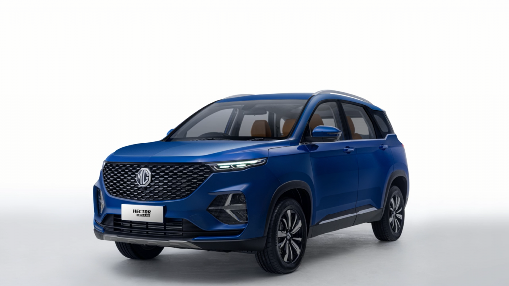 MG Hector Plus Launched In India in 2020 Suv, Top luxury