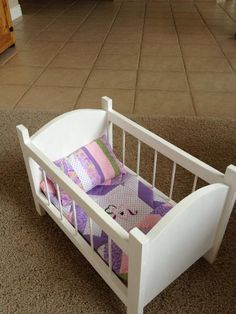 Doll crib do it yourself home projects from ana white wood doll crib do it yourself home projects from ana white solutioingenieria Image collections