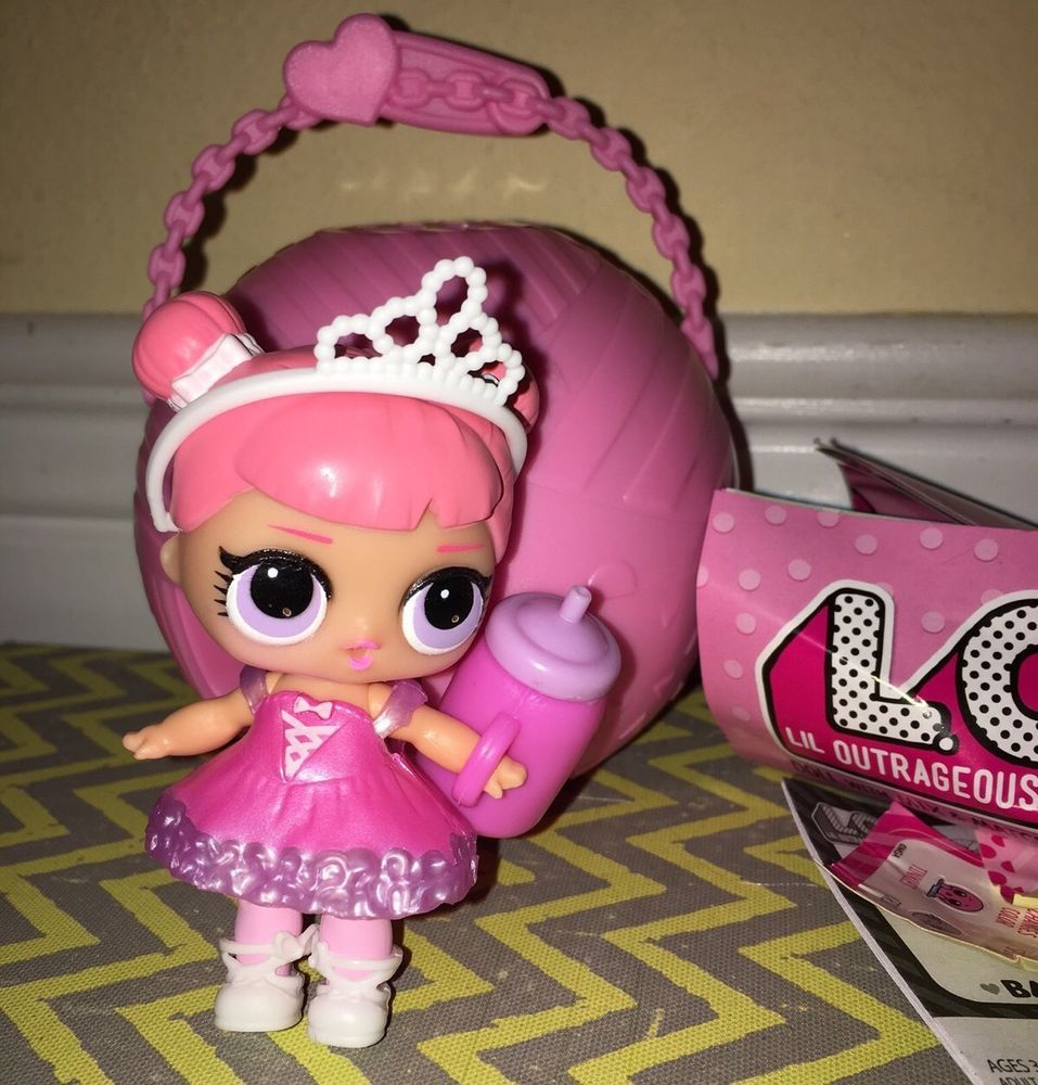 New Lol Surprise Lil Outrageous Littles Doll L O L Fancy