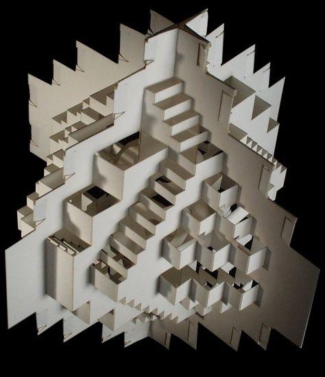 Ingrid siliakus arquitectura en papel models creations for Ingrid siliakus templates