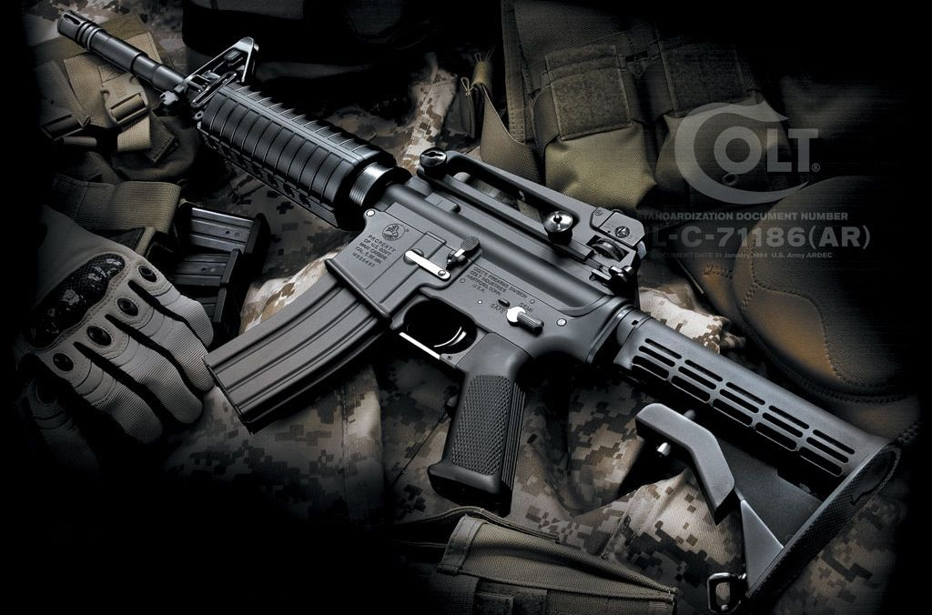 Colt M4A1 Carbine with M68 Aimpoint reflex optic and