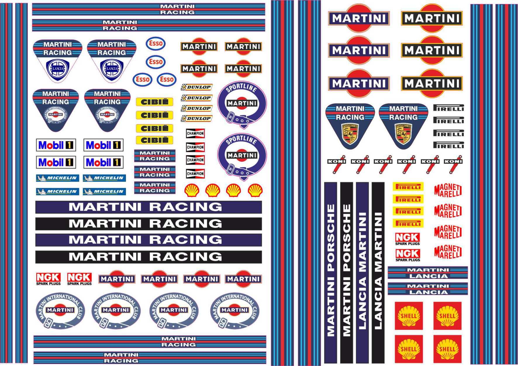 Martini racing stripe google search