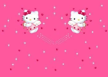 Moving 3d Hello Kitty Screensaver Free Photo Wallpapers Animated Hello Kitty Hello Kitty Wallpaper Wallpaper Hello Kitty Hello Kitty Gambar