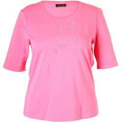 Photo of Barbara Lebek – Pinkes T-shirt mit St…