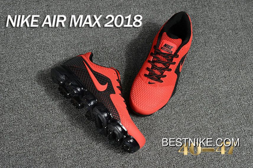 2018 Nike Air Max Day 2018 Red Black Free Shipping Nike Air Vapormax c1c6a50d4