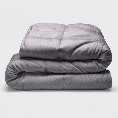 Sealy 48 X 72 Microplush 12lb Weighted Blanket Gray Size 12