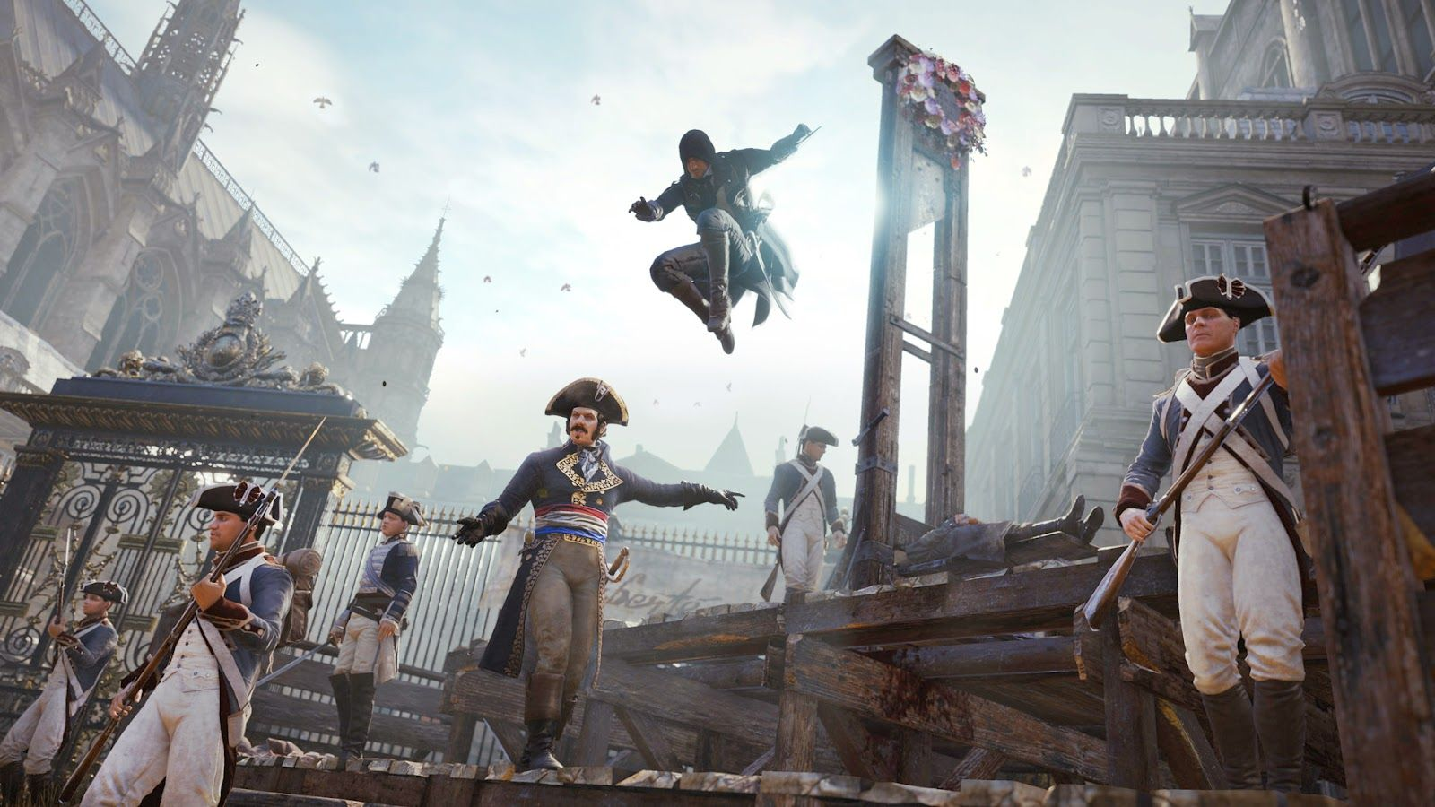 Assassin S Creed Unity Hd 1080p Wallpapers Best On Internet
