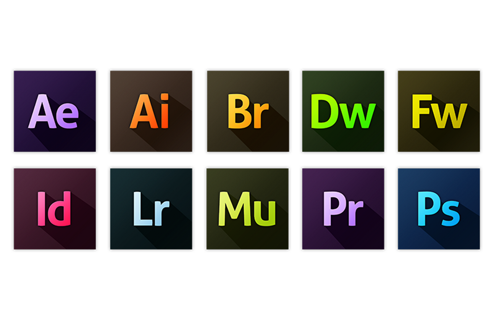 adobe cc replacement app icons dev resources pinterest app
