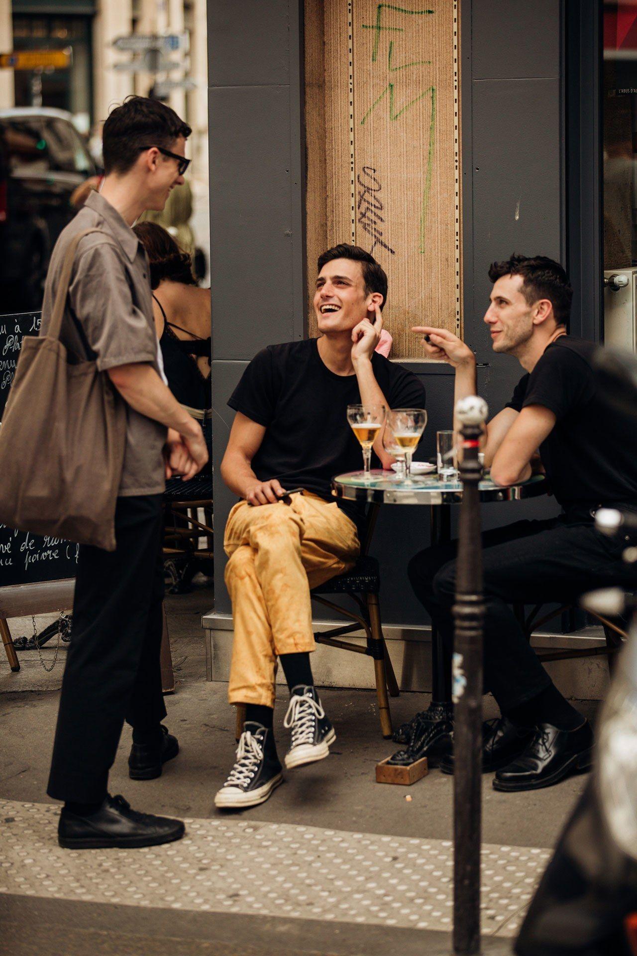 The Best Street Style From Paris Fashion Week Men's