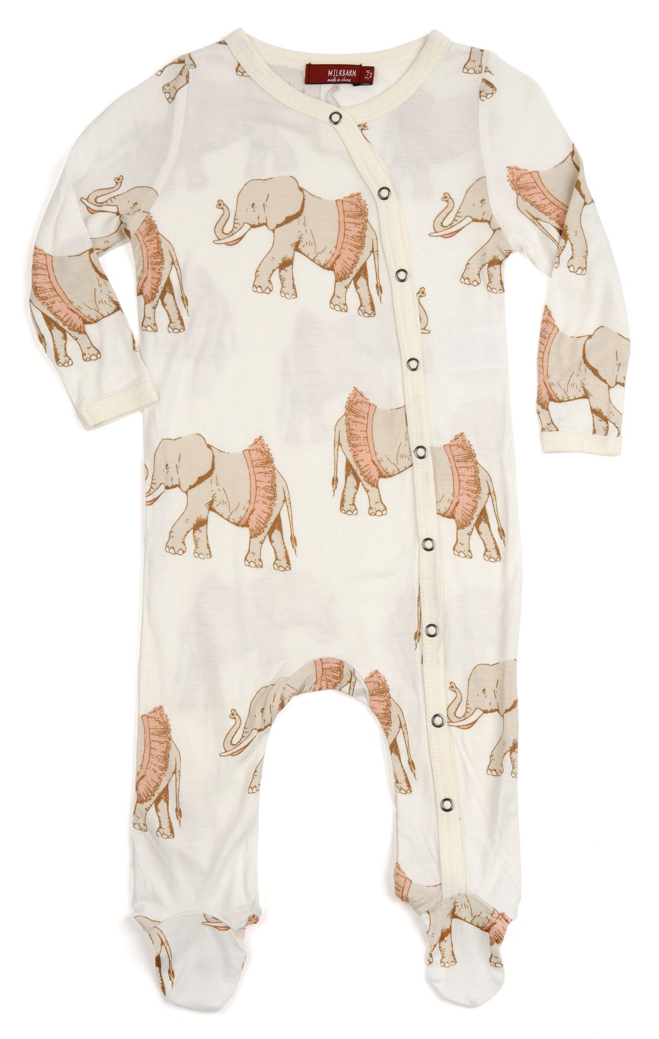 Milkbarn Infant Baby Footed Romper Yellow Giraffe 18-24 Months Brand New