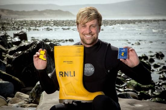 Kian Egan from #Westlife supported  #Mayday, our yellow welly-themed fundraising campaign, in 2014.