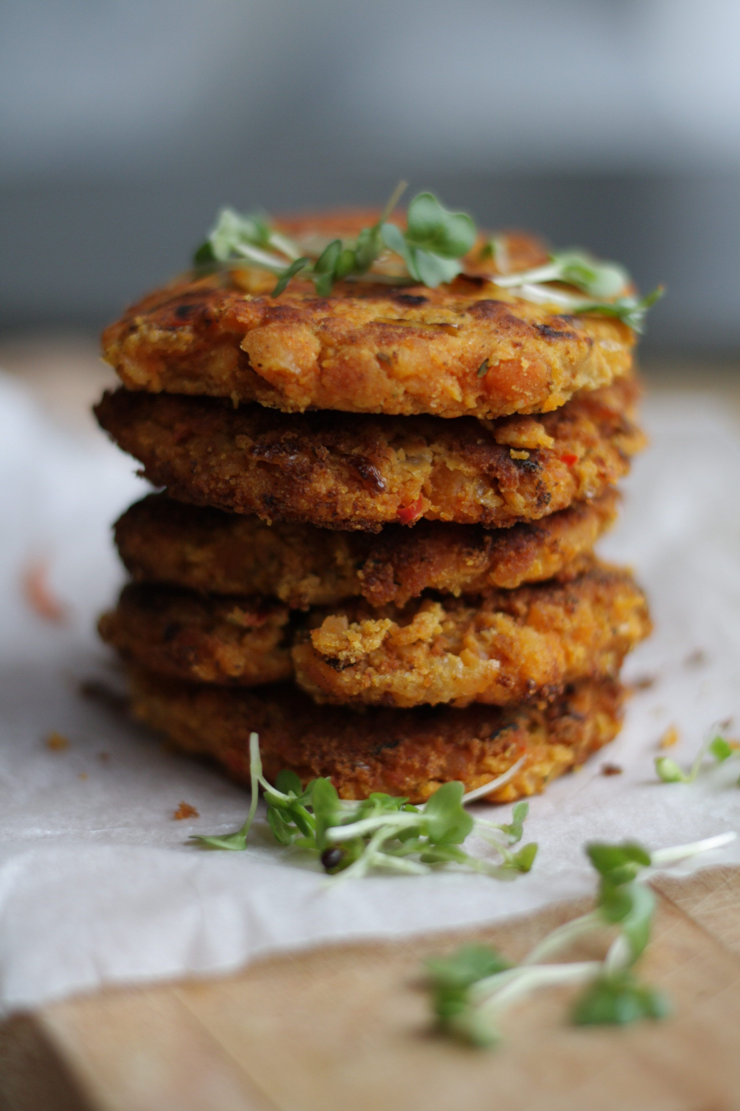 Spicy Split Pea Patties Vegan Recipe Minimal Ingredients