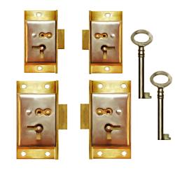 Half Mortise Cabinet Lock | MF Cabinets