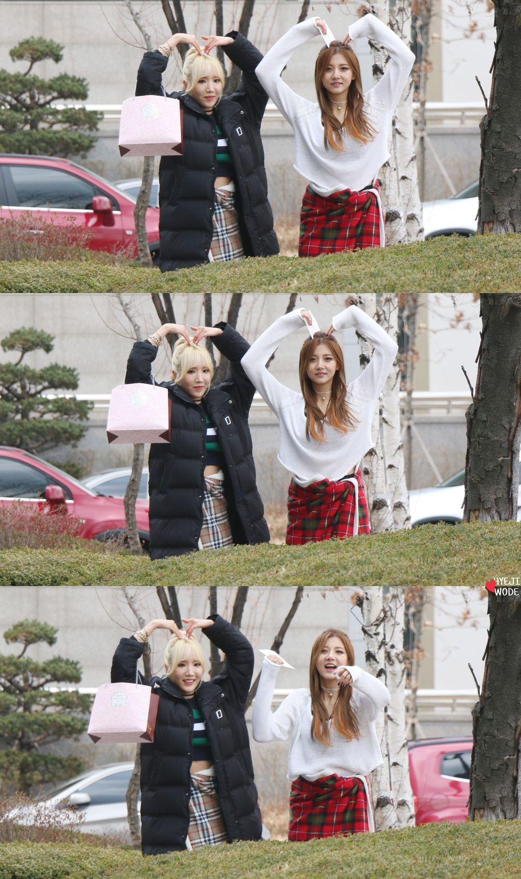 [16.03.12] 음악중심 팬미팅 - 포텐 4TEN Hyeji 혜지 & Yun 윤