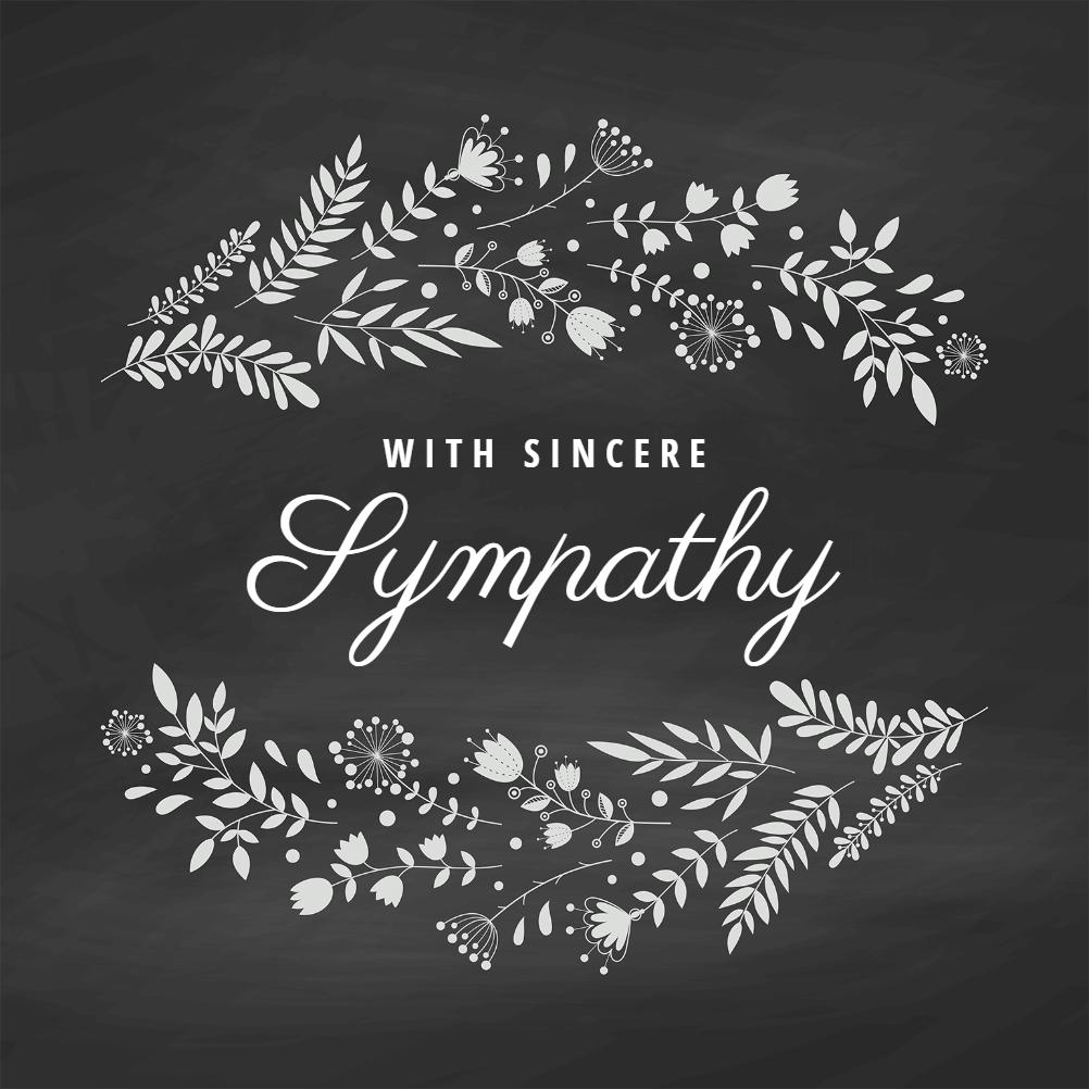 Simply Natural Sympathy Condolences Card Free Greetings Island Condolence Card Sympathy Cards Sympathy