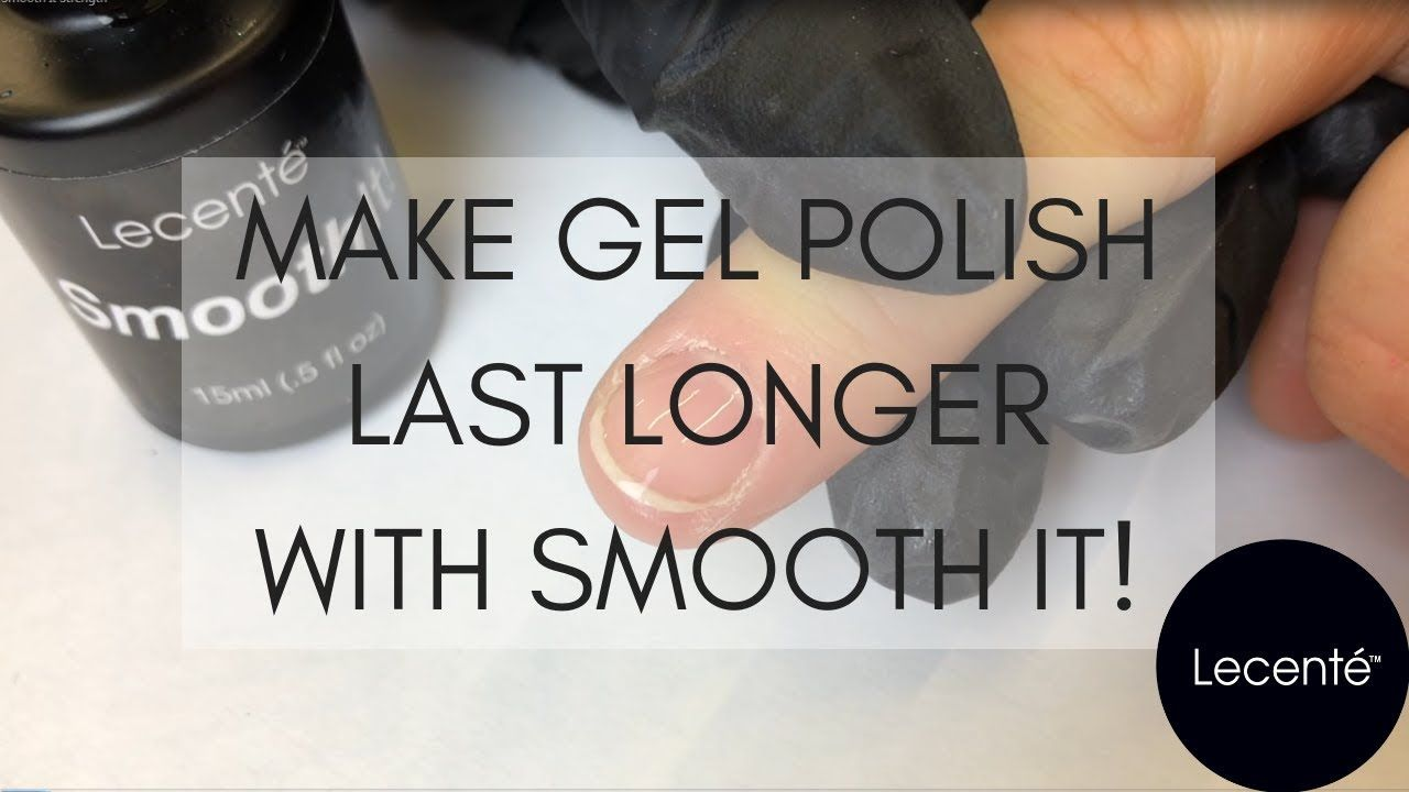If you have clients who struggle to wear gel polish then