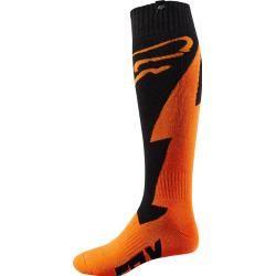 Fox Fri Thick Master Socken Schwarz Orange S Fox
