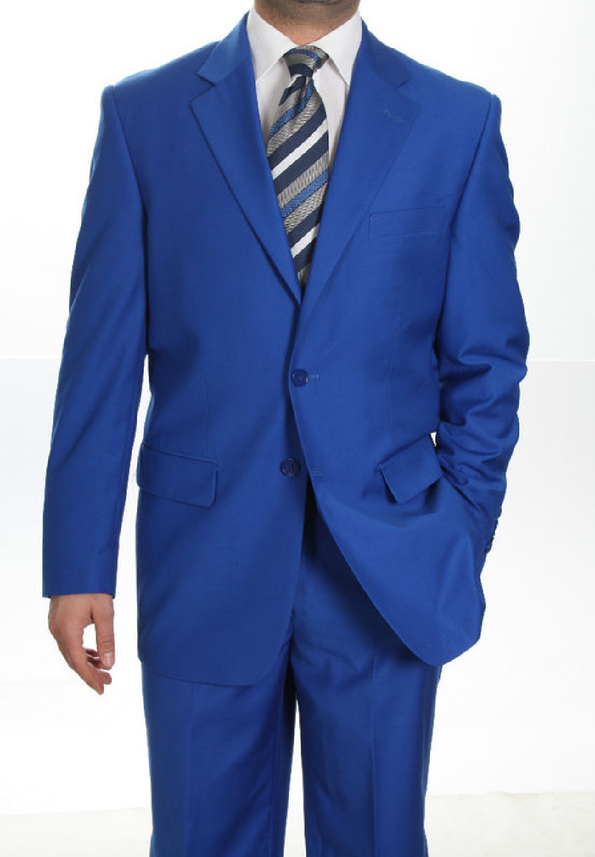 MENS BEBE BLUE SUITS PICS | Men's Two Button Blue Suit | Things to ...