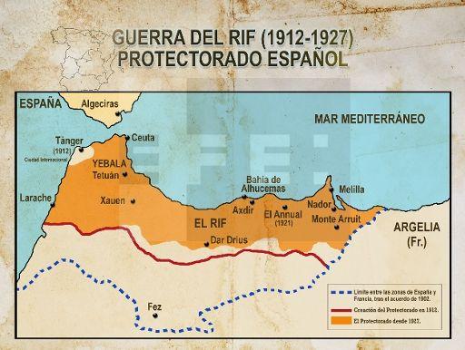 Mapa Marruecos Ceuta Y Melilla.Pin En Historia
