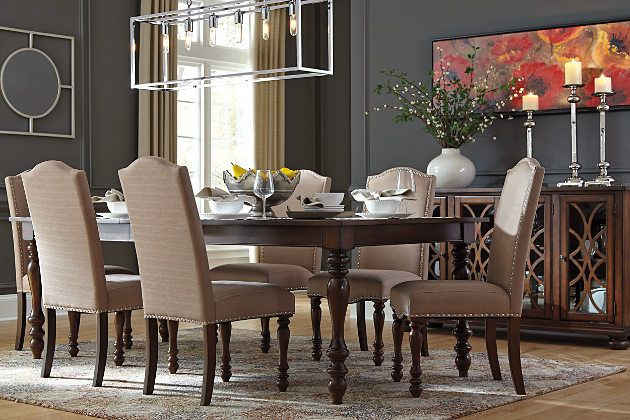 Baxenburg Dining Room Table Ashley Furniture HomeStore Home