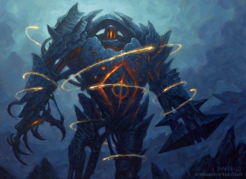 Chris Rahn: Blightsteel Colossus
