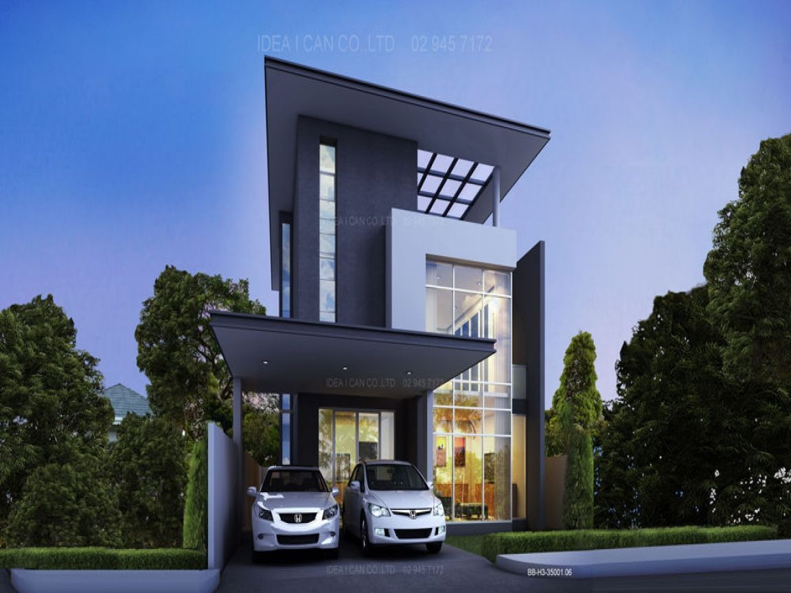 story house plans unique modern small two exterior designs housedesignpictures - Two Story Houses Pictures