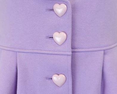 heart buttons Lavender aesthetic, Pastel purple, Purple