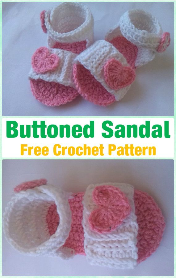 Crochet Baby Flip Flop Sandals Free Patterns Roundup Baby Flip