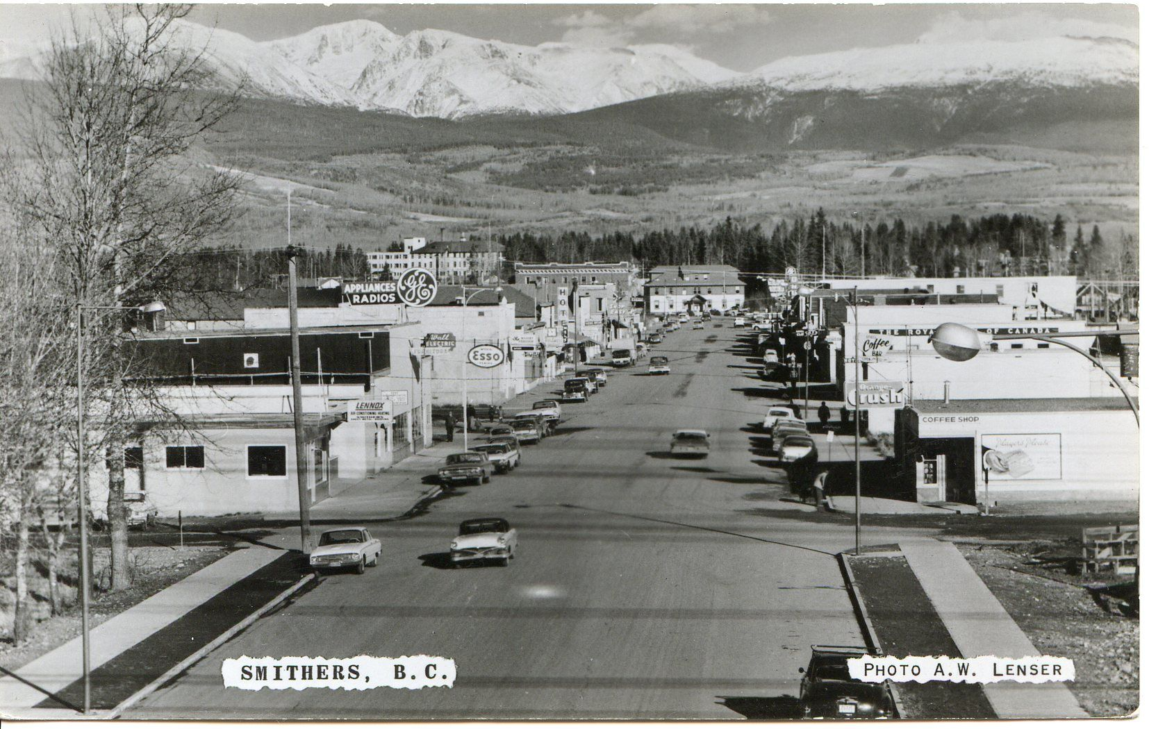 1950 S Smithers Bc Postcards Of Old Bc 1920 1960 S