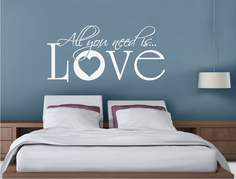 All You Need Is Love Wall Sticker Buy 2 Get 3rd Free Mix And Match