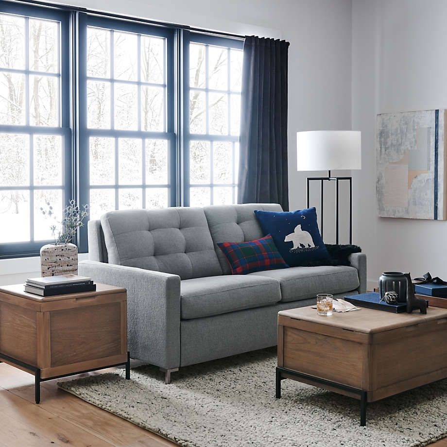 Winchester End Trunk Reviews Crate And Barrel In 2021 Crate And Barrel Custom Furniture Masculine Decor [ 920 x 920 Pixel ]