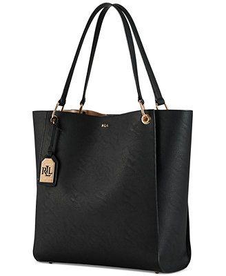 Lauren Ralph Lauren Aiden Tote - Handbags & Accessories - Macy's