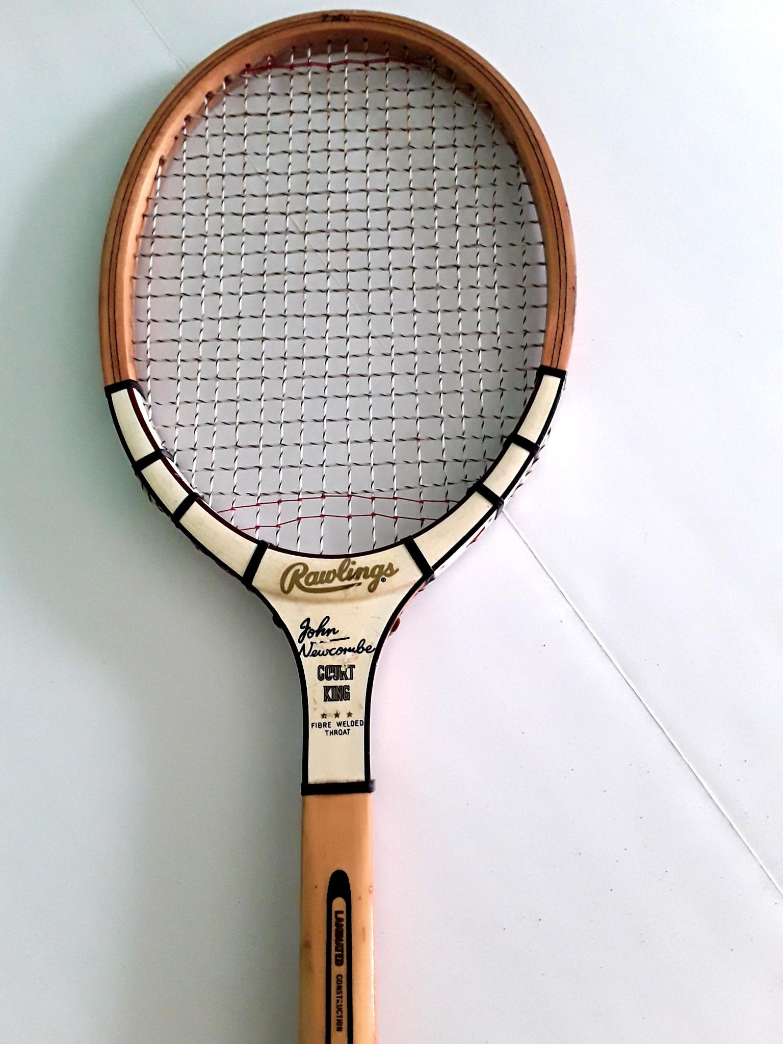 Rawlings John Newcombe Court King Vintage Wood Tennis Racquet 60s 70s By Fchoicevintage On Etsy Johnnewcombe Https Linkt Tennis Tennis Racquet John Newcombe