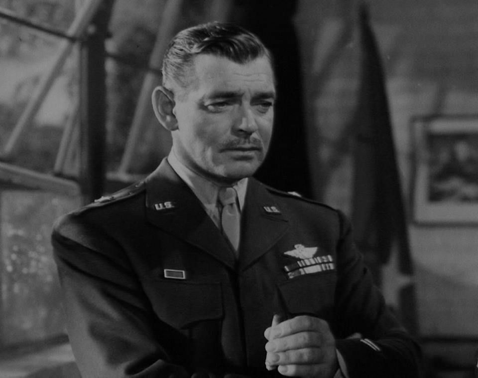 40-year-old Clark Gable volunteered for the U.S. Army Air Corps ...