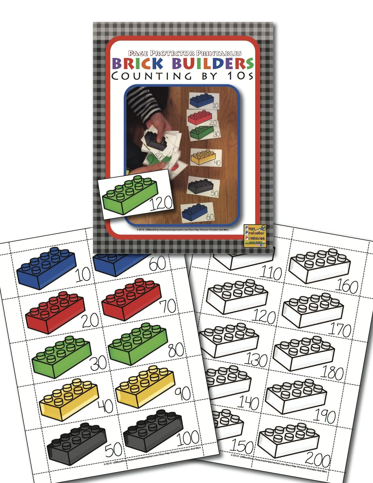 Lego Themed Freebie Download It And Print In Color Or