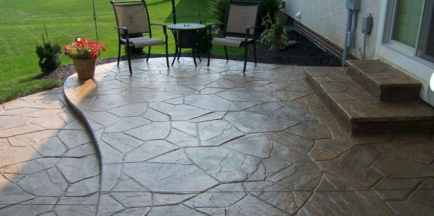 Concrete Patio Columbus Ohio Stamped Patios