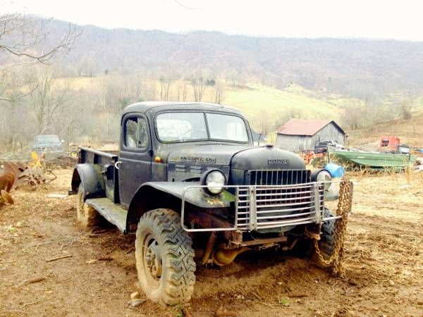 63 Power Wagon >> Farm Truck Running 1963 Dodge Power Wagon Project Dream Garage