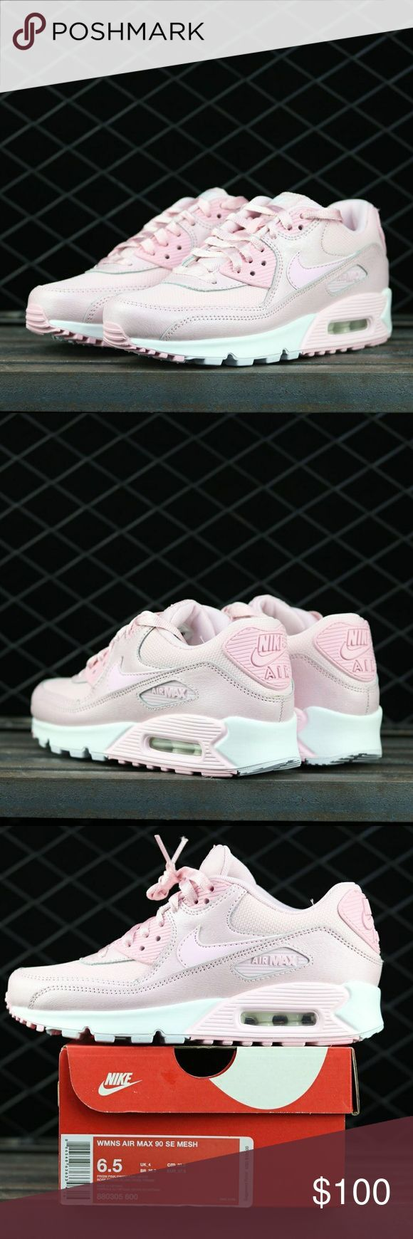 Nike Airmax 90 Gs Limited Edition Barbie Pink Nike Air Max 90 Gs Limited Edition Barbie Pink Condition Is New Nike Air Max Pink Barbie Pink Nike Air Max