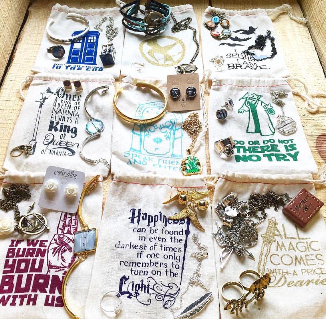 Subscription box for women: The ORIGINAL fandom jewelry club! 3-4 pieces of fandom inspired jewelry, only $13! #subscriptionbox #forwomen #fandom #jewelry ...