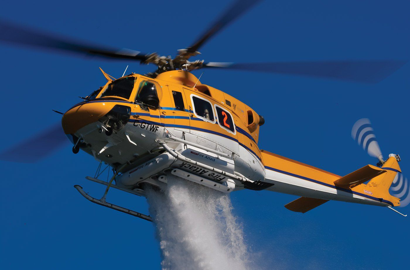 A wisk helicopter firefighting based thunder ontario