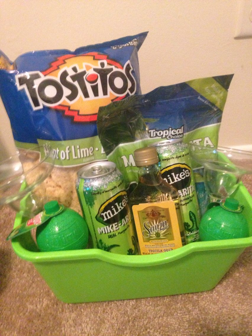 margarita basket for buck and doe prize | gift baskets | gift